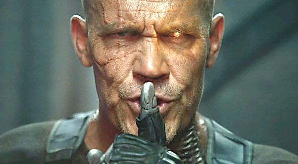 DEATH FROM THE FUTURE Cable (Josh Brolin) travels from the future to kill a young mutant who will grow up to kill his family. - PHOTO COURTESY OF TWENTIETH CENTURY FOX
