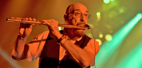 ROCK FLUTE! Ian Anderson presents Jethro Tull on June 3, at Vina Robles Amphitheatre, a celebration of the band's 50th anniversary. - PHOTO COURTESY OF JETHRO TULL
