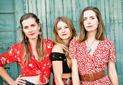 DOUBLE DOSE T Sisters play a Música Del Río house concert on June 1; and a Red Barn Community Music Series on June 2. - PHOTO COURTESY OF KELLY OWEN