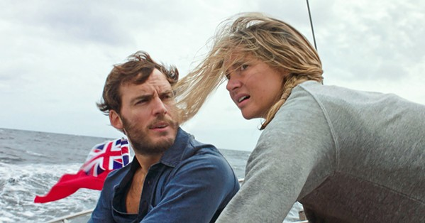 LOST AT SEA Based on real events, Adrift tells the true story of two sailors and lovers caught in one of the most catastrophic hurricanes in history. - PHOTO COURTESY OF STXFILMS