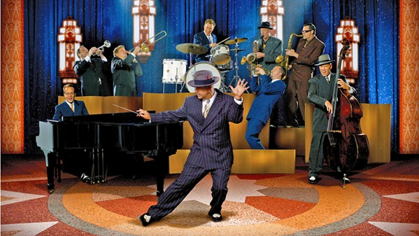 JUMP AND JIVE! Neo-swing act Big Bad Voodoo Daddy brings their horn-driven dance sounds to the Live Oak Music Festival on June 16. - PHOTO COURTESY OF BIG BAD VOODOO DADDY
