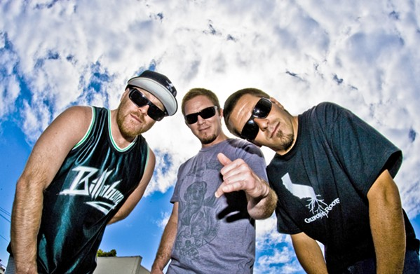 GET STOOPID ON THE BEACH Rock, reggae, punk, hip-hop, and more act Slightly Stoopid plays the Avila Beach Golf Resort as part of their School's Out for Summer Tour, on June 14. - PHOTO COURTESY OF SLIGHTLY STOOPID