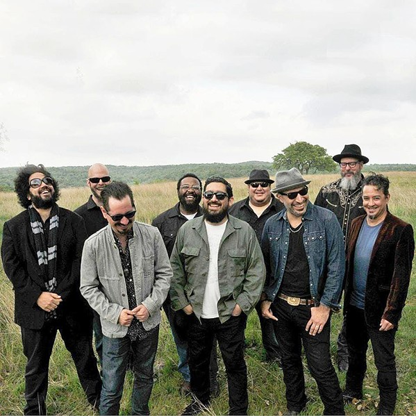 HEAVY HITTERS Latin funk and breakbeat act Brownout bring their Fear of a Brown Planet tour to The Siren on June 19. - PHOTO COURTESY OF BROWNOUT