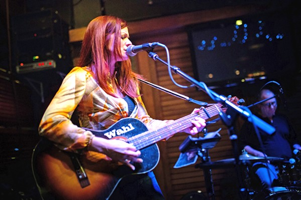 STRAIGHT OUTTA NASHVILLE Country-tinged Americana noir act Renee Wahl & The Sworn Secrets play June 25 and June 27, at Puffers of Pismo; June 30, at Bristol Cider House; and on KPYG radio on July 1. - PHOTO COURTESY OF RENEE WAHL