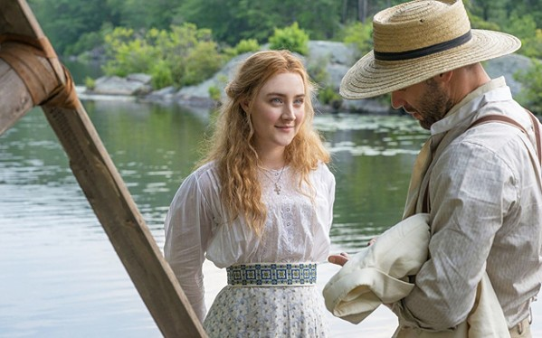 CRAZY IN LOVE Everyone spends the summer hopelessly in love with people who are in love with someone else in The Seagull. - PHOTO COURTESY OF SONY PICTURES CLASSICS