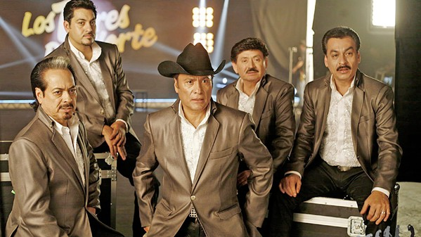 GOOD KITTIES Seven-time Grammy and eight-time Latin Grammy award-winners Los Tigres del Norte play Vina Robles Amphitheatre on June 30. - PHOTO COURTESY OF LOS TIGRES DEL NORTE