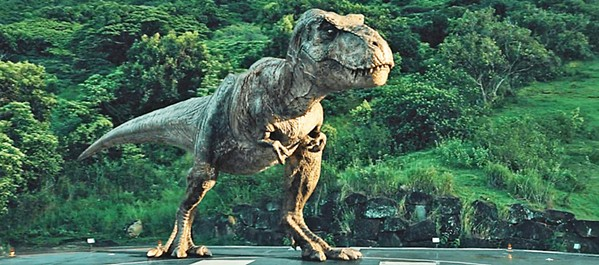T-REX! The dinos are back and badder than ever in this sequel to Jurassic World. - PHOTO COURTESY OF AMBLIN ENTERTAINMENT