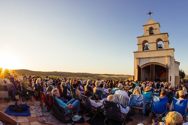 LIMITLESS Catch musical performances like Baroque in the Vines (July 21 at 7:30 p.m.) in venues like the scenic Chapel Serra in Shandon during Festival Mozaic this summer. - PHOTO COURTESY OF FESTIVAL MOZAIC
