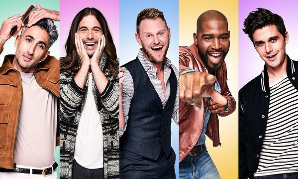 GRAB THE TISSUES Netflix's Queer Eye packs a range of emotions into what otherwise would be a standard makeover show. - PHOTO COURTESY OF NETFLIX