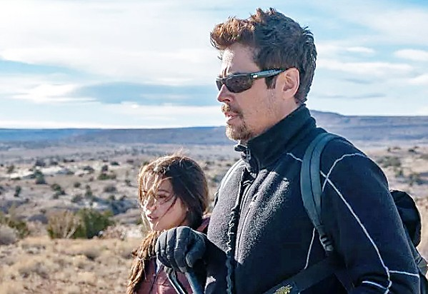HOSTAGE In Sicario: Day of the Soldado, a kingpin's daughter becomes a bargaining chip in the midst of the drug war. - PHOTO COURTESY OF COLUMBIA PICTURES