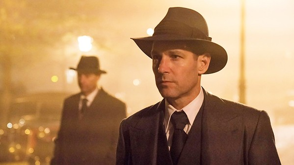 JACK OF ALL TRADES In The Catcher Was a Spy, Paul Rudd plays Moe Berg, a major league baseball player turned spy who is also a closeted gay man during World War II. - PHOTO COURTESY OF IFC FILMS