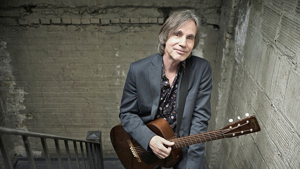 STAY JUST A LITTLE BIT LONGER Iconic singer-songwriter Jackson Browne and his band plays Vina Robles Amphitheatre on Aug. 1. - PHOTO COURTESY OF DANNY CLINCH