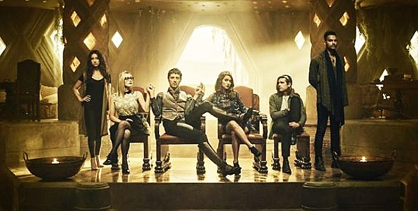 MAGIC Syfy's The Magicians follows a group of young people who become rulers of the magical kingdom of Fillory while living in a time loop and trying to prevent the destruction of both worlds. - PHOTO COURTESY OF SYFY