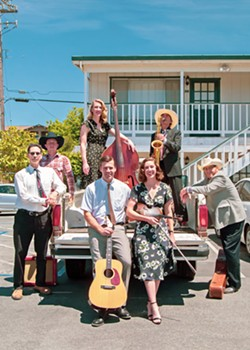 MYSTERIOUS MUSIC Ethereal folk pop act Shadowlands has released two new singles and plays Aug. 4 at Branch Mill Organic Farm and Retreat Center and Aug. 10 at Tooth & Nail Winery. - PHOTO COURTESY OF THE FINE COUNTRY BAND