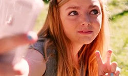 IS IT OVER YET? Kayla (Elsie Fisher) finishes off the last week of her painfully awkward middle school career in Eighth Grade. - PHOTO COURTESY OF A24
