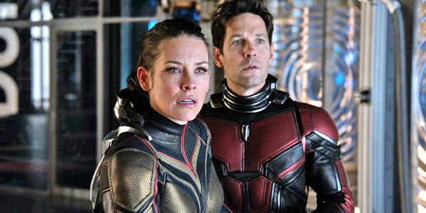 HERO/LIFE BALANCE In Ant-Man and The Wasp, Scott (Paul Rudd, pictured right) struggles with being a father and a super hero. - PHOTO COURTESY OF WALT DISNEY PICTURES