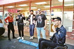 ROCK THE BEACH Portugal the Man (pictured) plays the Avila Beach Golf Resort on Aug. 11, with Chicano Batman. - PHOTO COURTESY OF MACLAY HERIOT