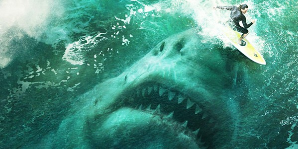 MEGAJAWS Long thought extinct, a Carcharodon Megalodon rises from the Mariana Trench to wreak havoc, in the sci-fi thriller The Meg. - PHOTO COURTESY OF APELLES ENTERTAINMENT