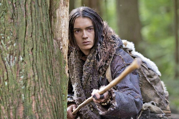 ALONE Keda (Kodi Smit-McPhee), a young man separated from his clan after a hunting mishap, befriends a wolf, forging a bond that will develop canines into man's best friend, in Alpha. - PHOTO COURTESY OF STUDIO 8