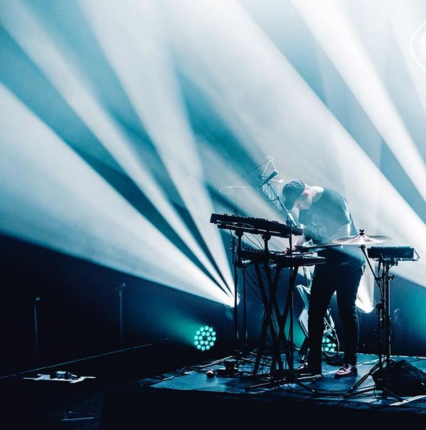 SONIC ELECTRONIC EDM producer and multi-instrumentalist Mura Masa plays the Fremont Theater on Aug. 27. - PHOTO COURTESY OF MURA MASA