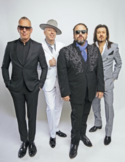 TEX-MEX AND MORE Spicy country act The Mavericks plays Vina Robles Amphitheatre on Sept. 13. - PHOTO COURTESY OF DAVID MCCLISTER