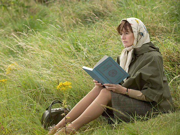UPSTART Free-spirit widow Florence Green (Emily Mortimer) opens a bookstore in a small conservative English coastal village and starts pushing novels by Ray Bradbury and Vladimir Nabokov, much to the chagrin of local residents, in The Bookshop. - PHOTO COURTESY OF NEW LINE CINEMA