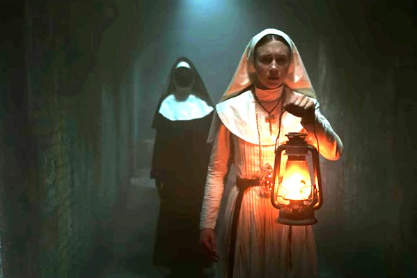 HAIL MARY Sister Irene (Taissa Farmiga) is sent to investigate the suicide of another young nun and discovers a malevolent spirit, in The Nun. - PHOTO COURTESY OF GREEN FILMS