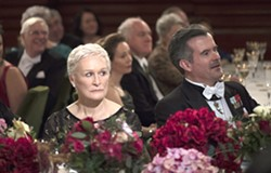 WOMAN BEHIND THE MAN Joan Castleman (Glenn Close), wife of a Nobel Prize for Literature-winning author, begins to ruminate on her life choices during their trip to Stockholm, in The Wife. - PHOTO COURTESY OF TEMPO PRODUCTIONS LIMITED