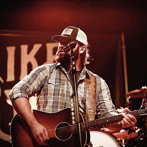 TEXAS AF Country singer-songwriter Mike Ryan plays BarrelHouse Brewing on Sept. 26. - PHOTO COURTESY OF MIKE RYAN