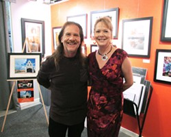 DYNAMIC DUO Photographers Dean Crawford and Deb Hofstetter share gallery space at Studios on the Park in Paso Robles. - PHOTO COURTESY OF DEB HOFSTETTER