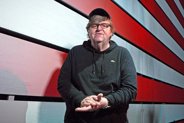 TRUMPING TRUMP Leftist polemicist Michael Moore takes on the Trump era in his new documentary, Fahrenheit 11/9. - PHOTO COURTESY OF DOG EAT DOG FILMS
