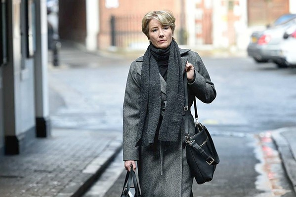 CAN I GET A WITNESS? Judge Fiona Maye (Emma Thompson) presides over the case of a teenage boy who's refusing a life-saving blood transfusion based on his religion, in The Children Act. - PHOTO COURTESY OF BBC FILMS