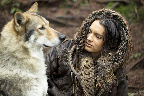 MAN'S BEST FRIEND When Keda (Kodi Smit-McPhee) is separated from his clan after a hunting mishap, he befriends a wolf, forging an alliance. - PHOTO COURTESY OF STUDIO 8