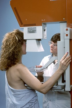 SCREENINGS California's Every Woman Counts program provides free breast cancer screening services, like mammograms, to underinsured and uninsured women across the state, including those in SLO County. - PHOTO COURTESY OF THE NATIONAL CANCER INSITITUTE