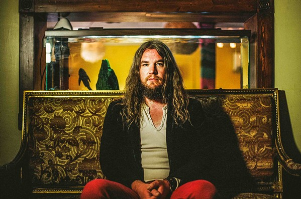 DREAM SWIRL Texas hippie rocker Israel Nash plays The Siren as part of his Lifted Tour 2018 on Oct. 11. - PHOTO COURTESY OF ISRAEL NASH