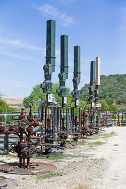 EXPENSIVE FIGHT Four oil companies, including Sentinel Peak Resources, have contributed a combined $5.4 million to fight Measure G in SLO County.  - FILE PHOTO BY JAYSON MELLOM