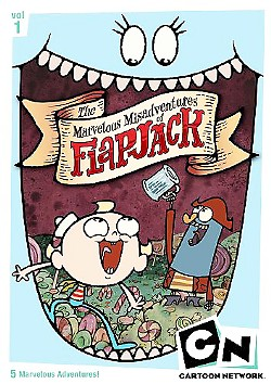 CANDY-COVERED ISLAND Keeping a candied eye on the prize, Flapjack and Captain K'nuckles get into mischief on the Stormalong Harbor. - PHOTO COURTESY OF IMBD.COM
