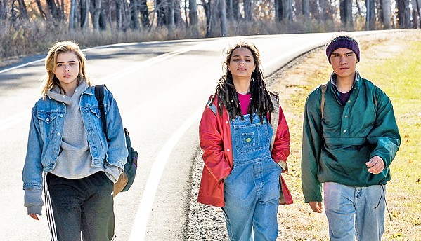 GAY AWAY? Cameron Post (Chloë Grace Moretz, left) is a teen sent to gay conversion therapy by her conservative guardians, in The Miseducation of Cameron Post. - PHOTO COURTESY OF BEACHSIDE FILMS