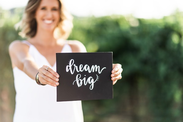 DREAMS REALIZED The Dream Big Darling nonprofit, led by founder and CEO Amanda Wittstrom-Higgins, aims to expose young women to the multitude of careers available within the wine and spirits world both locally and beyond. - PHOTO COURTESY OF DREAM BIG DARLING
