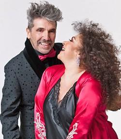 ARRIBA! International superstars Amanda Miguel and Diego Verdaguer play the Fremont on Oct. 14, bringing their Latin music hits. - PHOTO COURTESY OF AMANDA MIGUEL AND DIEGO VERDAGUER