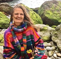 BORN AND RAISED Big Sur artist Erin Gafill is an award winning painter, teacher, and writer. - PHOTO COURTESY OF ERIN GAFILL