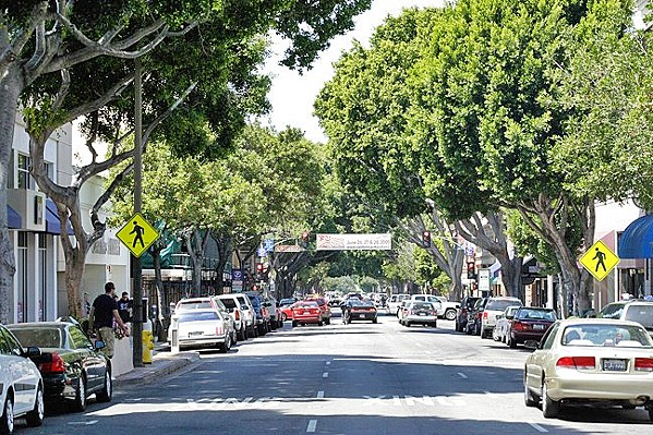BLOCKING THE ROAD As the demand for rideshare services like Uber and Lyft grows, the city of SLO is seeking a solution to idling cars on its downtown streets. - FILE PHOTO BY STEVE E. MILLER