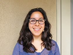 WOMEN SUPPORTING WOMEN Natali Camacho is taking her experience in higher education and sharing it with Latina girls interested in pursuing a four-year degree. - PHOTO COURTESY OF NATALI CAMACHO