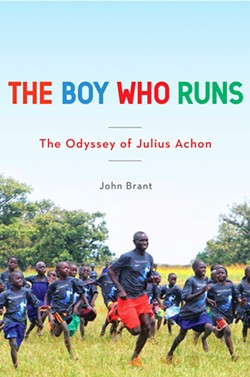 RUN WITH AN OLYMPIAN! Former child soldier, Olympian, and current Ugandan Parliament member Julius Achon will talk about and sign his new book on Oct. 18 and run with the public on Oct. 20. - IMAGE COURTESY OF JULIUS ACHON