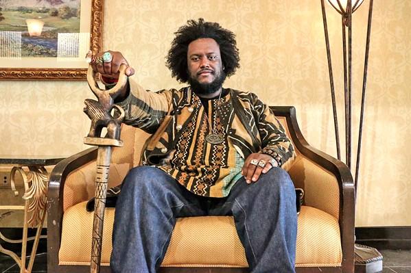 YOUNG LION Jazz saxophonist, composer, and producer Kamasi Washington plays the Fremont on Oct. 20. - PHOTO COURTESY OF KAMASI WASHINGTON