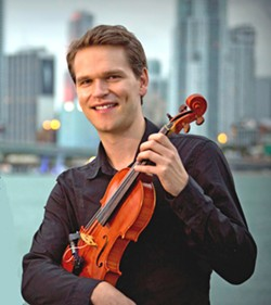 MAD GOOD The SLO County Jazz Fed hosts two-time Grammy Award-winning Danish-born jazz violinist Mads Tolling, on Oct. 20, at the Unity Concert Hall. - PHOTO COURTESY OF MADS TOLLING