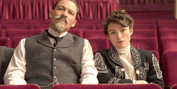 AN ARTIST EMERGES Keira Knightley stars as French novelist Sidonie-Gabrielle Colette, who had to reclaim her literary legacy from her husband, Henry Gauthier-Villars (Dominic West), in the biopic Colette. - PHOTO COURTESY OF NUMBER 9 FILMS