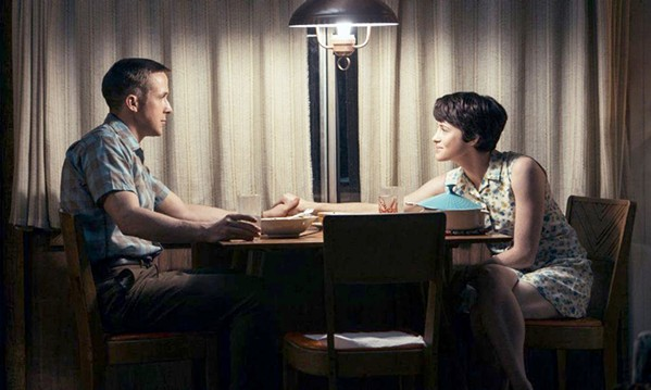 SPACE MAN Ryan Gosling stars as Neil Armstrong and Clair Foy is his wife, Janet, in the remarkable historical drama and biopic First Man. - PHOTO COURTESY OF AMBLIN ENTERTAINMENT AND DREAMWORKS