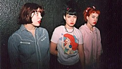 REJECT THIS! Queercore: How to Punk a Revolution screens on Oct. 26, at The Palm Theatre, documenting Homo- and Queercore, the LGBTQ-offshoot of punk rock, including bands like Bikini Kill (pictured). - PHOTO COURTESY OF DESIRE PRODUCTIONS
