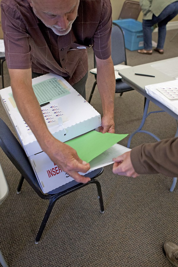 GETTING OUT THE VOTE SLO County Clerk Recorder Tommy Gong says voter registration in the county for the Nov. 6 elections has exceeded that of the 2016 presidential elections. - FILE PHOTO
